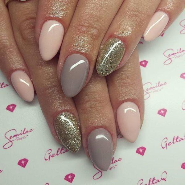 glitter-nail-art-ideas-119 89+ Glitter Nail Art Designs for Shiny & Sparkly Nails