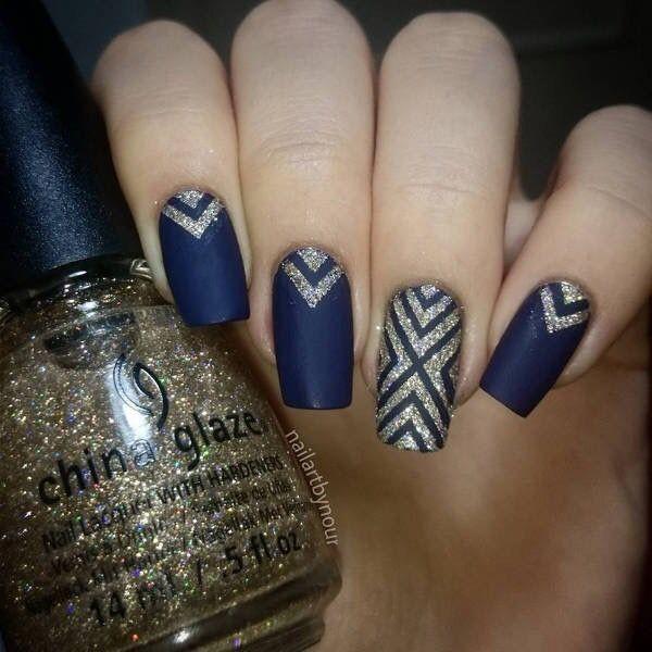 glitter-nail-art-ideas-128 89+ Glitter Nail Art Designs for Shiny & Sparkly Nails