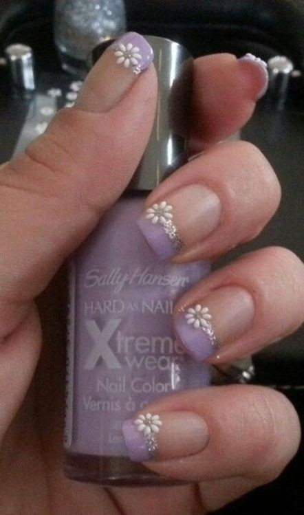 glitter-nail-art-ideas-13 89+ Glitter Nail Art Designs for Shiny & Sparkly Nails