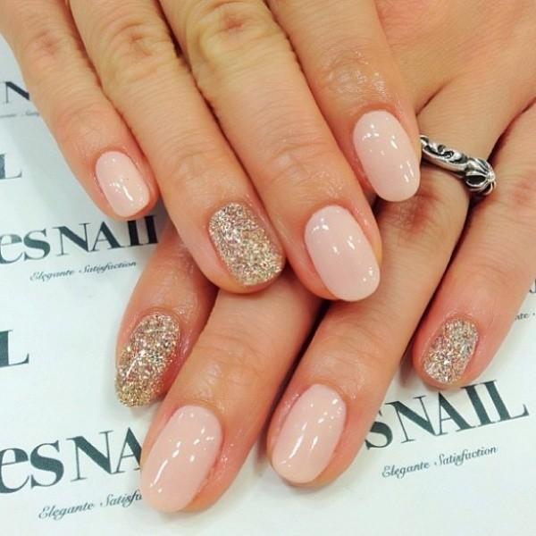 glitter-nail-art-ideas-130 89+ Glitter Nail Art Designs for Shiny & Sparkly Nails