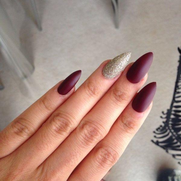 glitter-nail-art-ideas-133 89+ Glitter Nail Art Designs for Shiny & Sparkly Nails