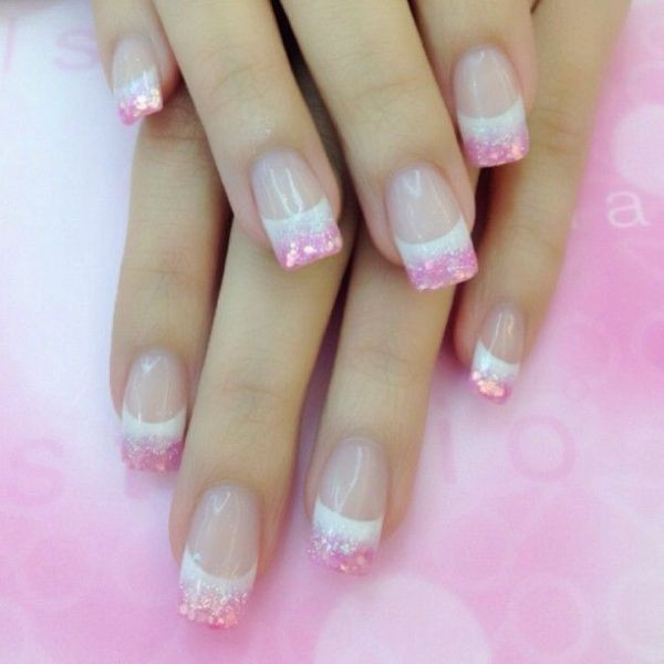 glitter-nail-art-ideas-140 89+ Glitter Nail Art Designs for Shiny & Sparkly Nails