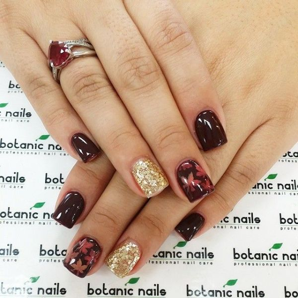 glitter-nail-art-ideas-142 89+ Glitter Nail Art Designs for Shiny & Sparkly Nails