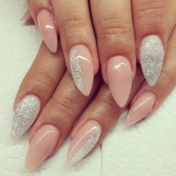 glitter-nail-art-ideas-147 89+ Glitter Nail Art Designs for Shiny & Sparkly Nails