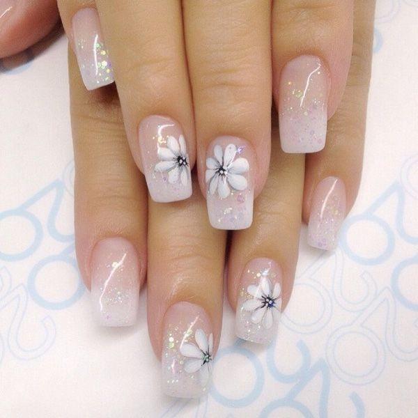 glitter-nail-art-ideas-148 89+ Glitter Nail Art Designs for Shiny & Sparkly Nails