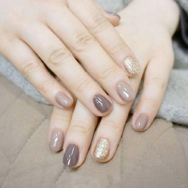 glitter-nail-art-ideas-153 89+ Glitter Nail Art Designs for Shiny & Sparkly Nails