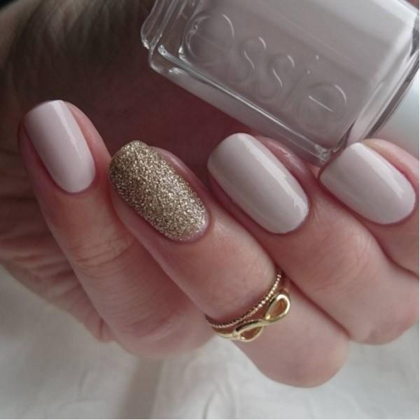 glitter-nail-art-ideas-154 89+ Glitter Nail Art Designs for Shiny & Sparkly Nails