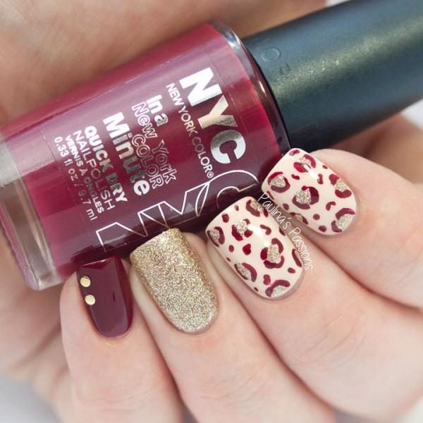 glitter-nail-art-ideas-155 89+ Glitter Nail Art Designs for Shiny & Sparkly Nails