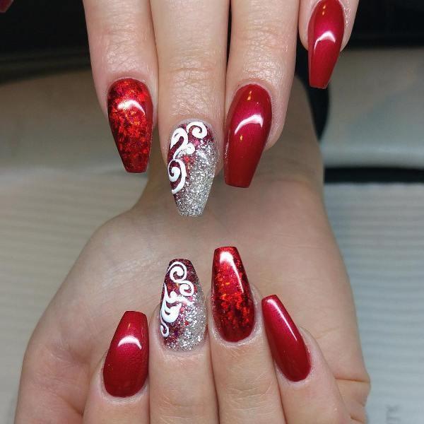 glitter-nail-art-ideas-156 89+ Glitter Nail Art Designs for Shiny & Sparkly Nails