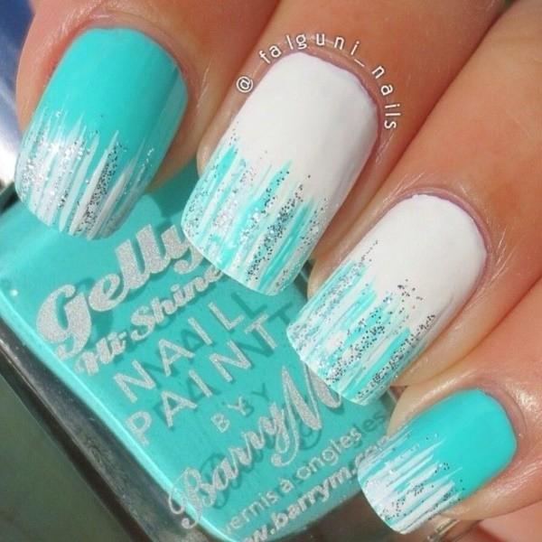 glitter-nail-art-ideas-159 89+ Glitter Nail Art Designs for Shiny & Sparkly Nails