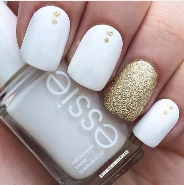 glitter-nail-art-ideas-164 89+ Glitter Nail Art Designs for Shiny & Sparkly Nails