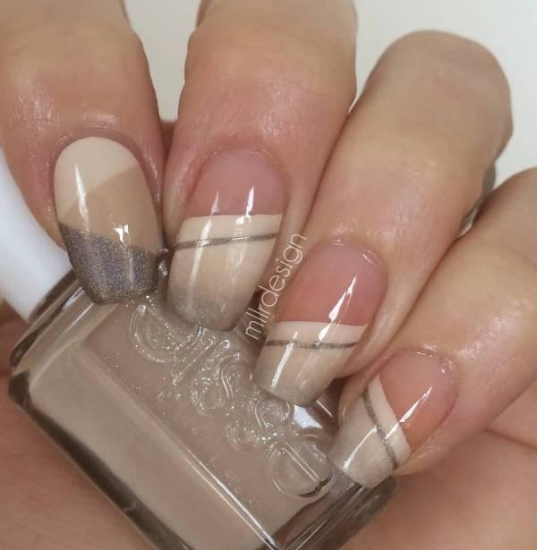 glitter-nail-art-ideas-165 89+ Glitter Nail Art Designs for Shiny & Sparkly Nails