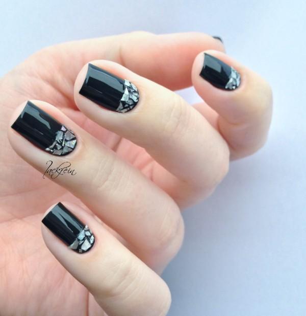 glitter-nail-art-ideas-166 89+ Glitter Nail Art Designs for Shiny & Sparkly Nails