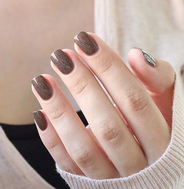 glitter-nail-art-ideas-167 89+ Glitter Nail Art Designs for Shiny & Sparkly Nails