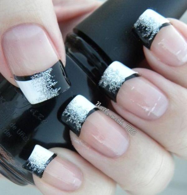 glitter-nail-art-ideas-168 89+ Glitter Nail Art Designs for Shiny & Sparkly Nails