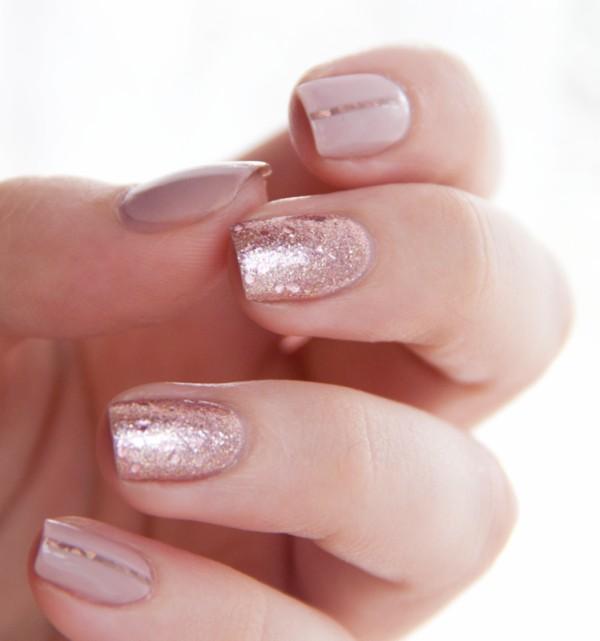 glitter-nail-art-ideas-172 89+ Glitter Nail Art Designs for Shiny & Sparkly Nails