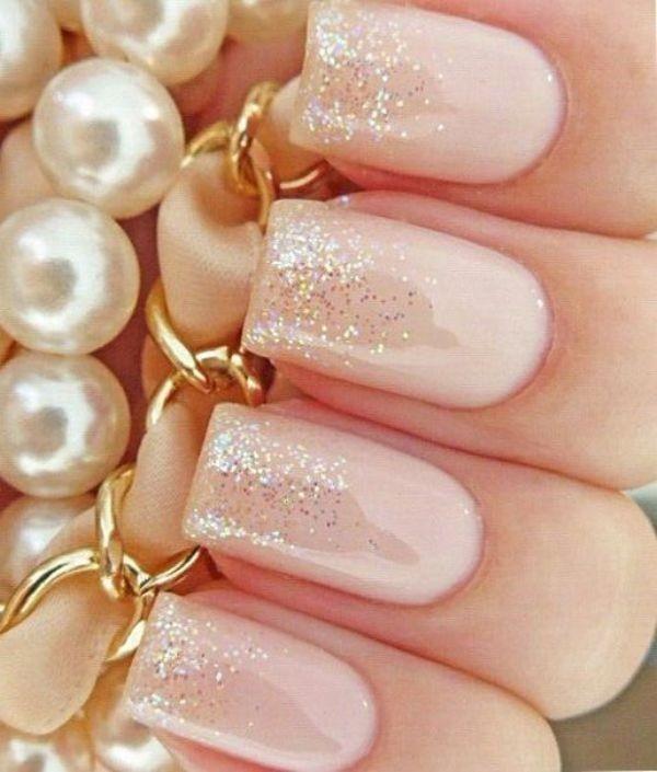 glitter-nail-art-ideas-176 89+ Glitter Nail Art Designs for Shiny & Sparkly Nails