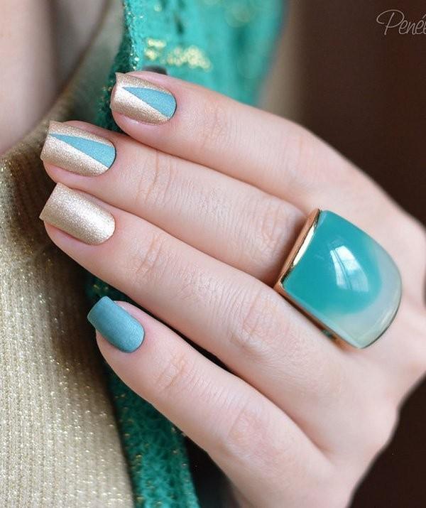 glitter-nail-art-ideas-178 89+ Glitter Nail Art Designs for Shiny & Sparkly Nails