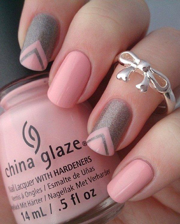 glitter-nail-art-ideas-183 89+ Glitter Nail Art Designs for Shiny & Sparkly Nails