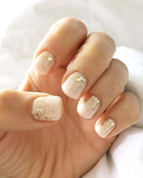 glitter-nail-art-ideas-184 89+ Glitter Nail Art Designs for Shiny & Sparkly Nails