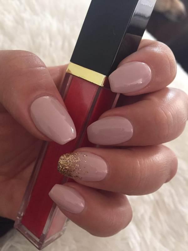 glitter-nail-art-ideas-188 89+ Glitter Nail Art Designs for Shiny & Sparkly Nails