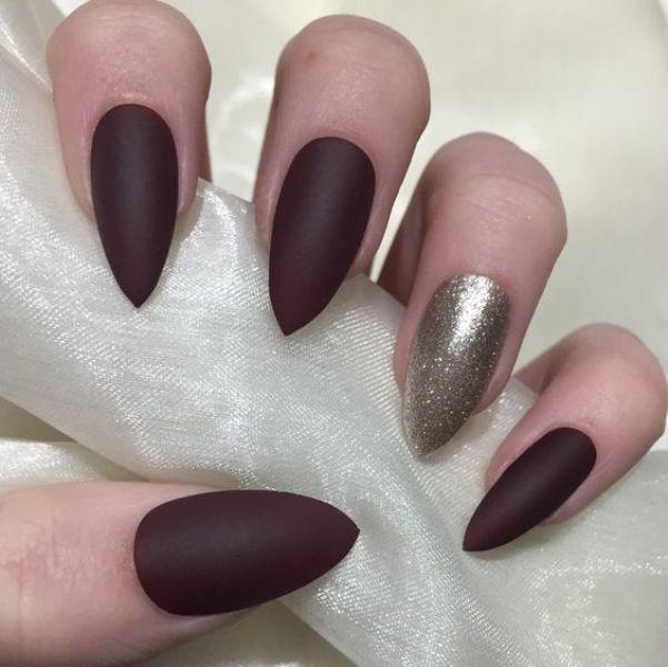 glitter-nail-art-ideas-189 89+ Glitter Nail Art Designs for Shiny & Sparkly Nails