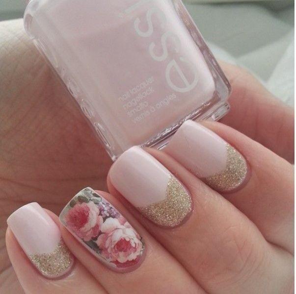 glitter-nail-art-ideas-192 89+ Glitter Nail Art Designs for Shiny & Sparkly Nails