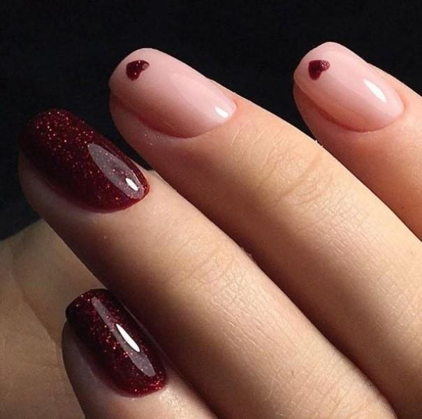 glitter-nail-art-ideas-193 89+ Glitter Nail Art Designs for Shiny & Sparkly Nails