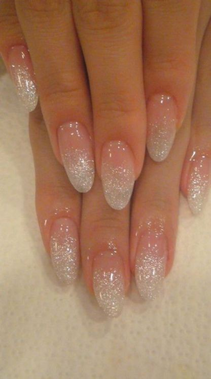 glitter-nail-art-ideas-2 89+ Glitter Nail Art Designs for Shiny & Sparkly Nails