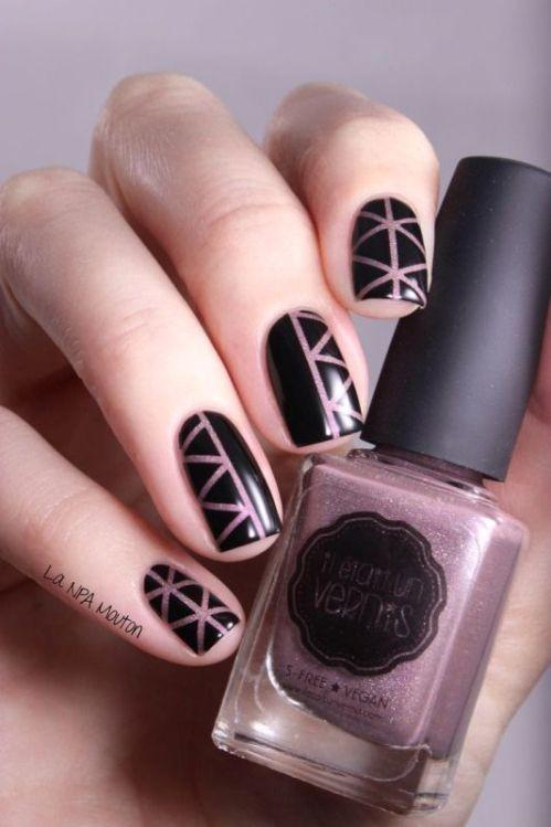 glitter-nail-art-ideas-20 89+ Glitter Nail Art Designs for Shiny & Sparkly Nails
