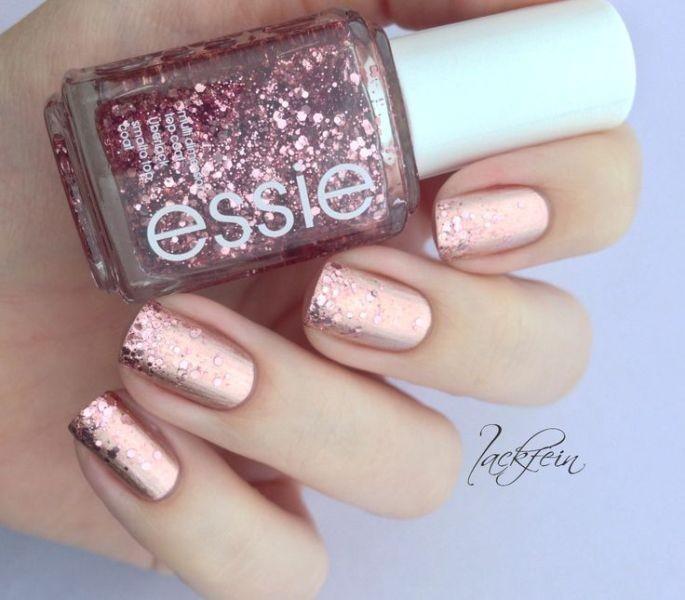 glitter-nail-art-ideas-200 89+ Glitter Nail Art Designs for Shiny & Sparkly Nails