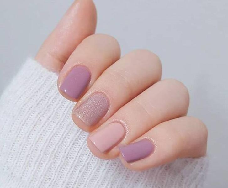 glitter-nail-art-ideas-201 89+ Glitter Nail Art Designs for Shiny & Sparkly Nails