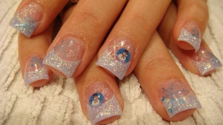 glitter-nail-art-ideas-204 89+ Glitter Nail Art Designs for Shiny & Sparkly Nails