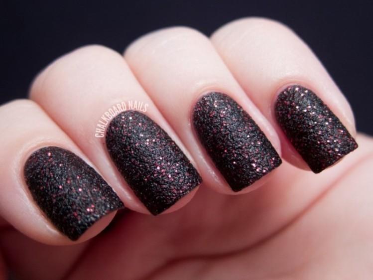 glitter-nail-art-ideas-208 89+ Glitter Nail Art Designs for Shiny & Sparkly Nails