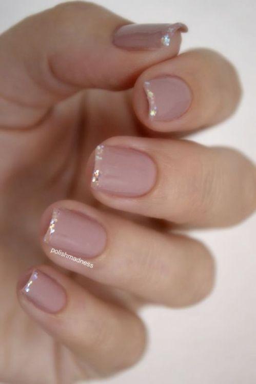 glitter-nail-art-ideas-21 89+ Glitter Nail Art Designs for Shiny & Sparkly Nails