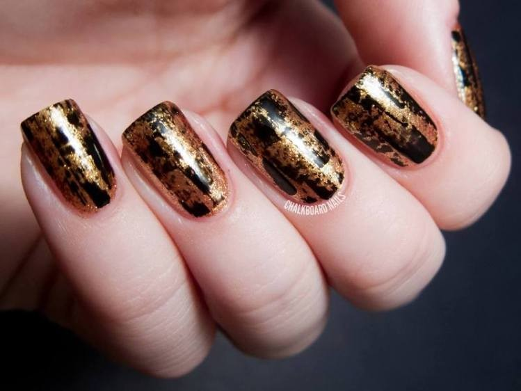 glitter-nail-art-ideas-211 89+ Glitter Nail Art Designs for Shiny & Sparkly Nails