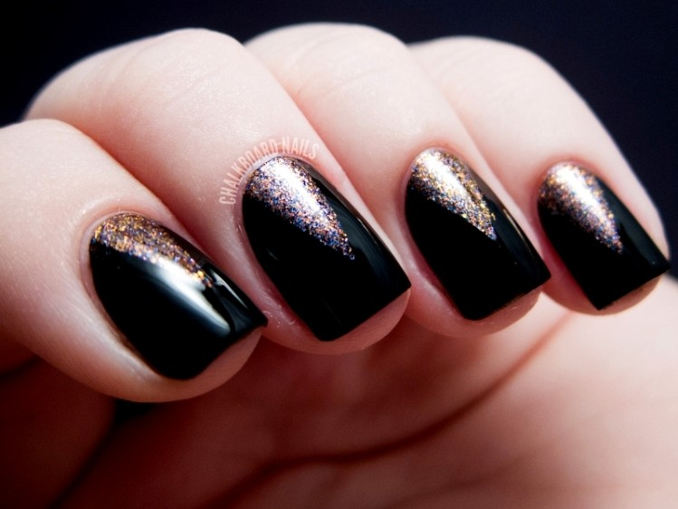 glitter-nail-art-ideas-213 11 Tips on Mixing Antique and Modern Décor Styles