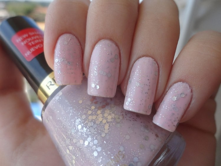 glitter-nail-art-ideas-214 89+ Glitter Nail Art Designs for Shiny & Sparkly Nails