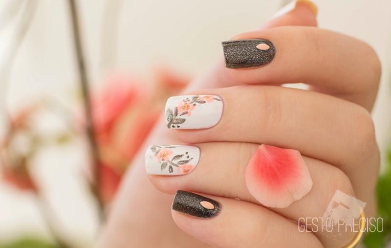 glitter-nail-art-ideas-217 89+ Glitter Nail Art Designs for Shiny & Sparkly Nails