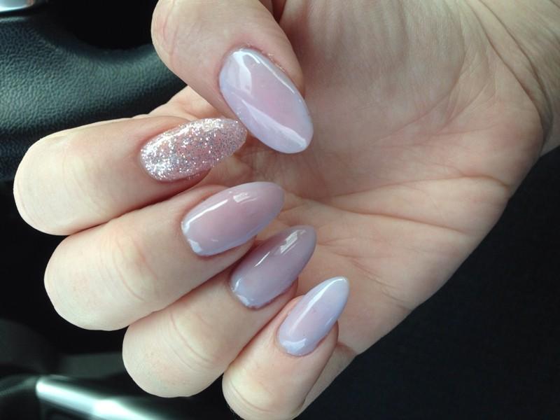 glitter-nail-art-ideas-218 89+ Glitter Nail Art Designs for Shiny & Sparkly Nails