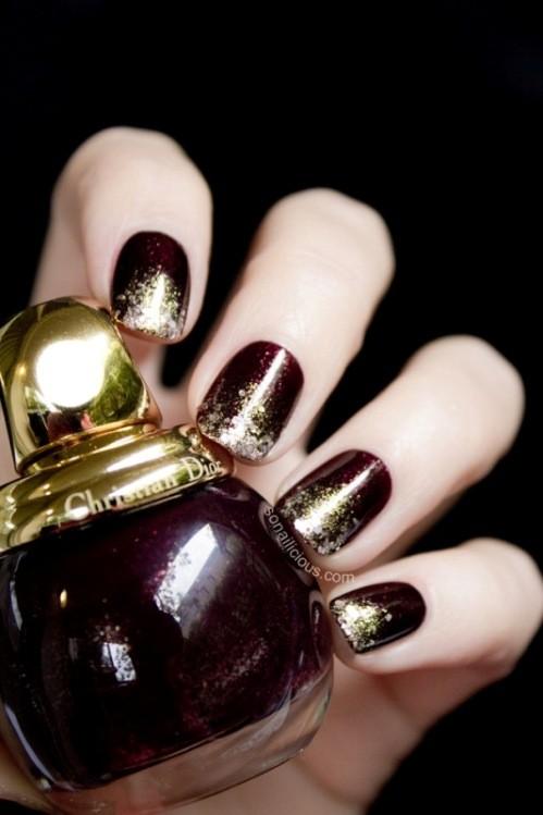 glitter-nail-art-ideas-25 89+ Glitter Nail Art Designs for Shiny & Sparkly Nails