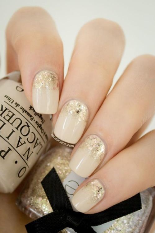 glitter-nail-art-ideas-27 89+ Glitter Nail Art Designs for Shiny & Sparkly Nails
