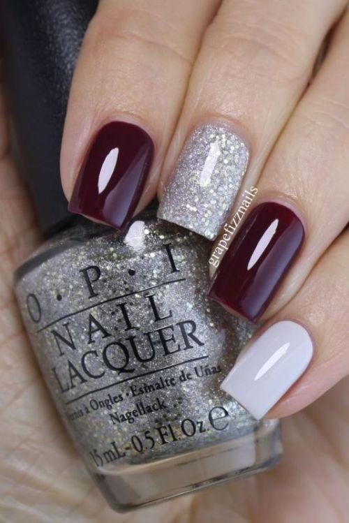 glitter-nail-art-ideas-28 89+ Glitter Nail Art Designs for Shiny & Sparkly Nails