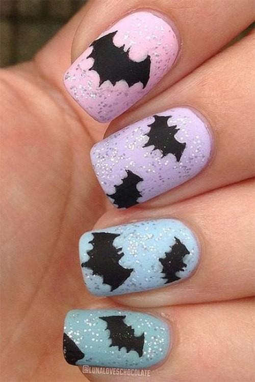 glitter-nail-art-ideas-29 89+ Glitter Nail Art Designs for Shiny & Sparkly Nails