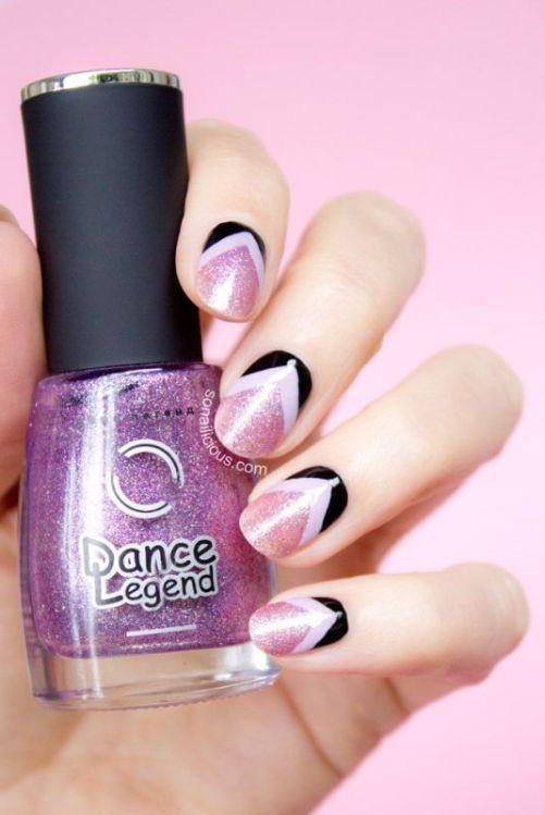 glitter-nail-art-ideas-32 89+ Glitter Nail Art Designs for Shiny & Sparkly Nails