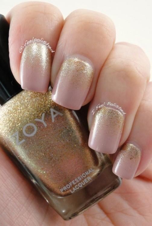 glitter-nail-art-ideas-33 89+ Glitter Nail Art Designs for Shiny & Sparkly Nails