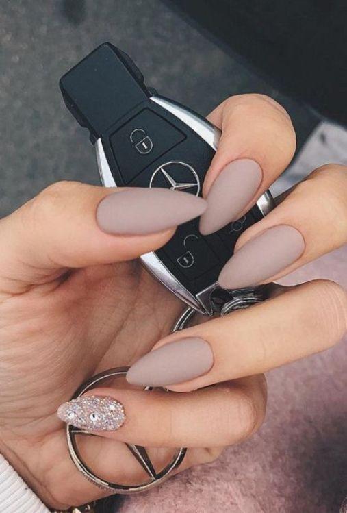 glitter-nail-art-ideas-35 89+ Glitter Nail Art Designs for Shiny & Sparkly Nails