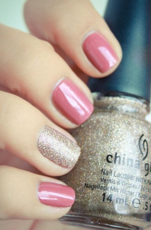 glitter-nail-art-ideas-38 89+ Glitter Nail Art Designs for Shiny & Sparkly Nails