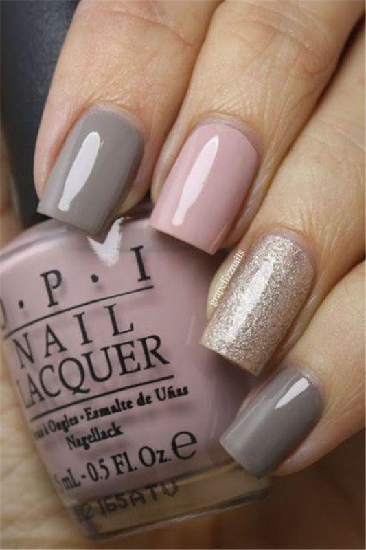 glitter-nail-art-ideas-39 89+ Glitter Nail Art Designs for Shiny & Sparkly Nails