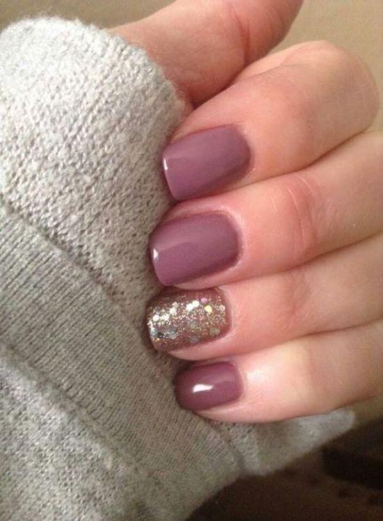 glitter-nail-art-ideas-42 89+ Glitter Nail Art Designs for Shiny & Sparkly Nails